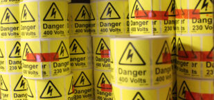 Quick Stick Warning Labels