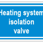 Heating System Isolation Valve