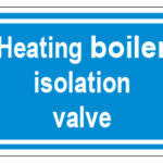 Heating Boiler Isolation Valve