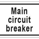 Main Circuit Breaker