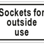 Sockets For Outside Use