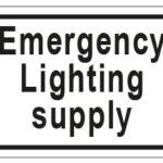 Emergency Lighting Supply