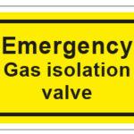 Emergency Gas Isolation Valve