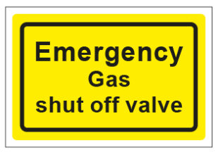 Emergency Gas Shut Off Valve
