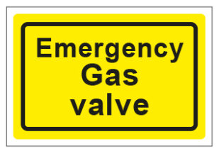 Emergency Gas Valve