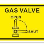 Gas Valve w/graphic