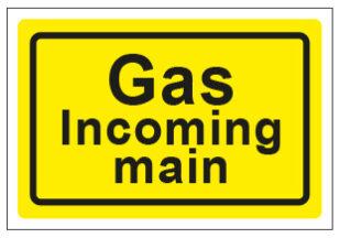 Gas Incoming Main