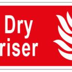 Dry Riser w/graphic