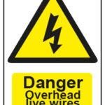 Danger Overhead Live Wires