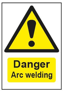 Danger Arc Welding