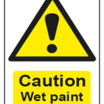Caution Wet Paint