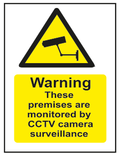 Warning These Premises Are Monitored...