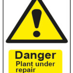 Danger Plant Under Repair