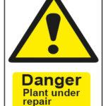 Danger Plant Under Repair