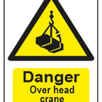 Danger Over Head Crane