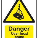 Danger Over Head Crane