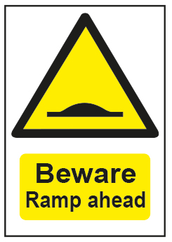Beware Ramp Ahead