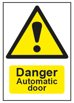 Danger Automatic Door