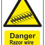 Danger Razor Wire