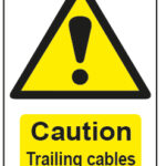Caution Trailing Cables