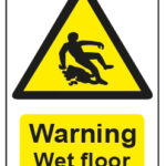 Warning Wet Floor