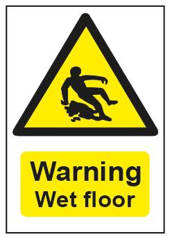 Warning Wet Floor