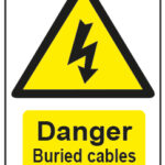 Danger Buried Cables