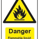 Danger Flammable Liquid