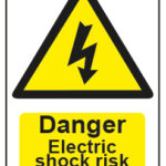Danger Electrick Shock Risk