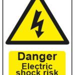 Danger Electrick Shock Risk