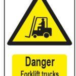 Danger Forklift Trucks