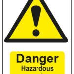 Danger Hazardous Waste