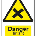 Danger Irritant Chemicals