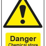 Danger Chemical Store