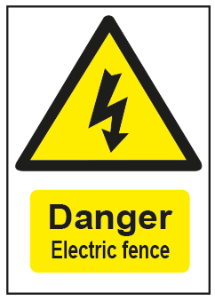 Danger Electric Fence