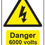 Danger 6000 Volts