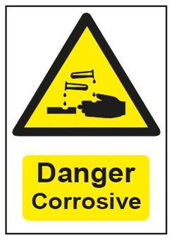 Danger Corrosive
