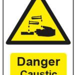 Danger Caustic