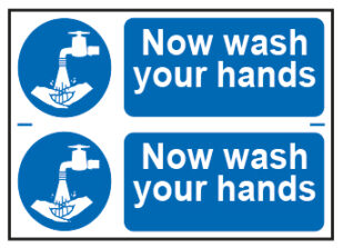 Now Wash Your Hands x2