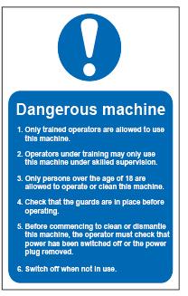 Dangerous Machine