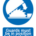 Guards Must Be In Position Before Starting w/graphic