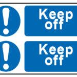 Keep Off x2