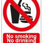 No Smoking No Drinking No Eating