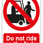 Do Not Ride On The Forks