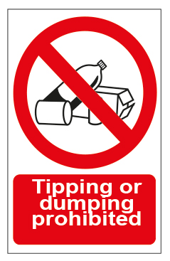 Tipping Or Dumping Prohibited
