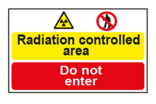 Radiation controlled area / Do not enter